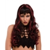 Wig Witch Craft Black/burgundy